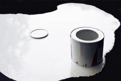 Pintura blanca Imagen de archivo libre de regalías