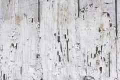 Pintura blanca agrietada Imágenes de archivo libres de regalías