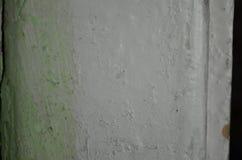 Pintura blanca vieja Fotos de archivo