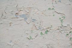 Pintura blanca vieja Fotos de archivo libres de regalías