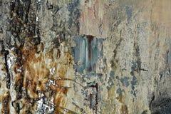 Pintura branca escura cinzenta de prata do ouro, fundo de pintura abstrato imagens de stock royalty free