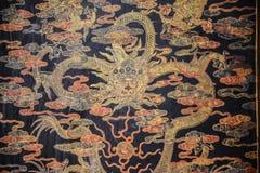 Pintura china del dragón Foto de archivo libre de regalías
