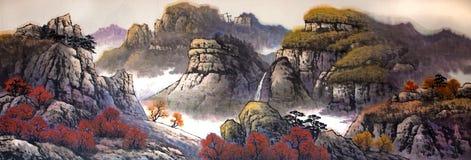 Pintura china tradicional Imagenes de archivo
