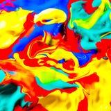 Pintura colorida Imágenes de archivo libres de regalías