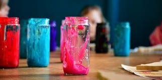 Pintura colorida Fotografia de Stock