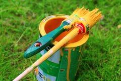 Pintura colorida da mola Imagem de Stock