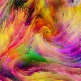 Pintura colorida de Digitas ilustração do vetor
