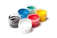 Pintura colorida del aguazo Fotografía de archivo