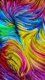 Pintura colorida e além ilustração do vetor