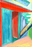 Pintura contemporânea Imagem de Stock Royalty Free