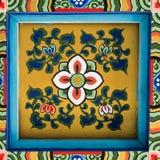 Pintura coreana del tejado Fotografía de archivo