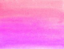 Pintura da aguarela Foto de Stock Royalty Free