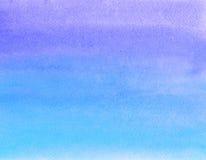 Pintura da aguarela Fotografia de Stock
