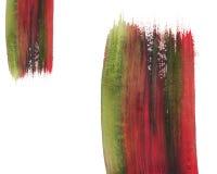 Pintura da aguarela de Grunge ilustração do vetor