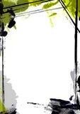 Pintura da beira da página Imagens de Stock