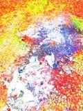 Pintura da beleza da natureza na superfície do fundo foto de stock royalty free
