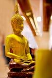 Pintura da Buda Staute Fotografia de Stock