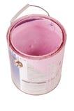 Pintura da cor-de-rosa quente isolada Imagem de Stock Royalty Free