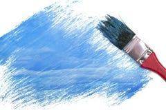 Pintura da cor dos azul-céu fotografia de stock royalty free