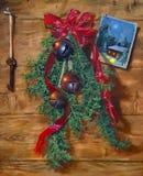 Pintura da decoração do feriado Imagens de Stock Royalty Free