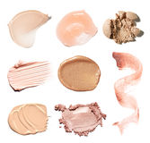 Pintura da mancha de produtos cosméticos Foto de Stock Royalty Free