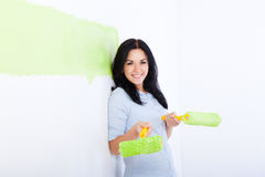 Pintura da parede Fotografia de Stock