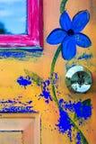 Pintura da porta Imagem de Stock Royalty Free