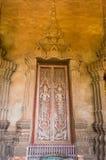 pintura da porta do templo Fotos de Stock