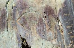 Pintura da rocha Fotos de Stock