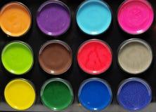 Pintura das cores Fotos de Stock
