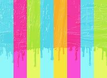 Pintura das cores ilustração do vetor