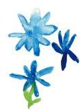 Pintura das crianças ilustração stock