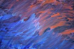 Pintura de acrílico Imagen de archivo