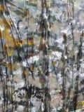 Pintura de acrílico abstracta Fotos de archivo