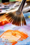 Pintura de acrílicos de Aristic Foto de Stock