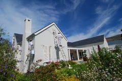 Pintura de casa Fotografia de Stock