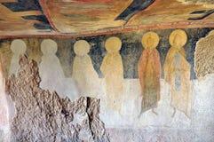 Pintura de caverna fotos de stock
