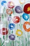 Pintura de cristal Foto de archivo libre de regalías