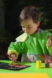 Pintura de dedo 2 Fotografía de archivo