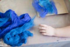 Pintura de feltro da criança Imagem de Stock