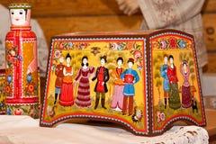 Pintura de Gorodets Fotografia de Stock