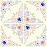 Pintura de Gorodets Ornamento floral del fondo Fotos de archivo