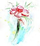 Pintura de la acuarela Imagen de archivo