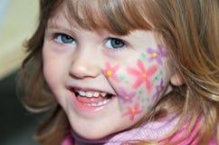 Pintura de la cara Fotografía de archivo libre de regalías