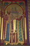Pintura de la iglesia ortodoxa Foto de archivo libre de regalías