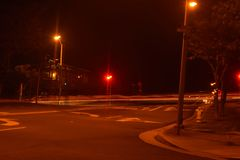 Pintura de la luz de calle Imagen de archivo
