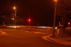 Pintura de la luz de calle Fotografía de archivo