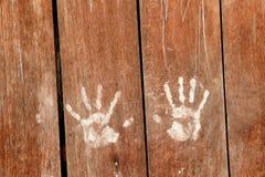 Pintura de la mano Imagenes de archivo