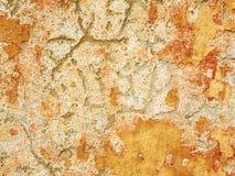 Pintura de la peladura en la pared Fotografía de archivo