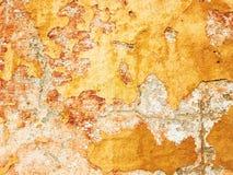 Pintura de la peladura en la pared Fotos de archivo